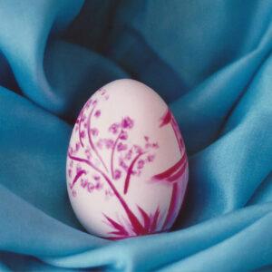 hen eggshell, watercolor